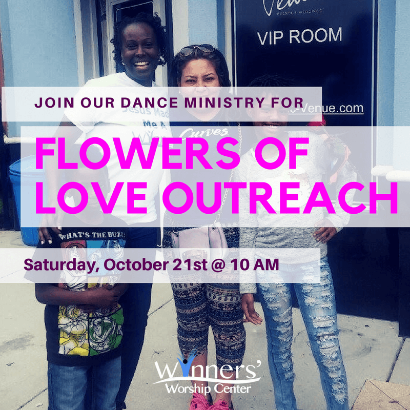 Flowers of Love Outreach Tampa FL Winners Worship Center