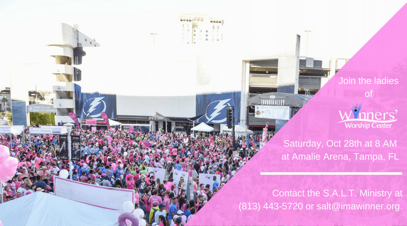 Opinion, breast cancer walk in tampa